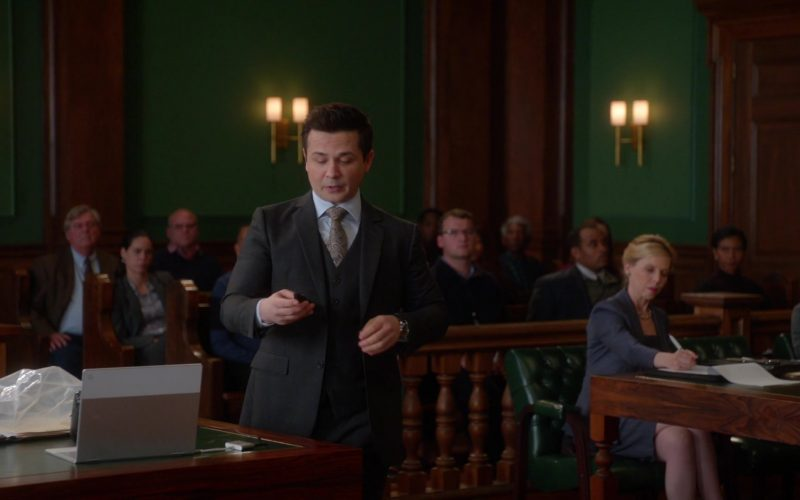 Chromebook Laptop in Bull Season 4 Episode 11 Look Back in Anger (2020)