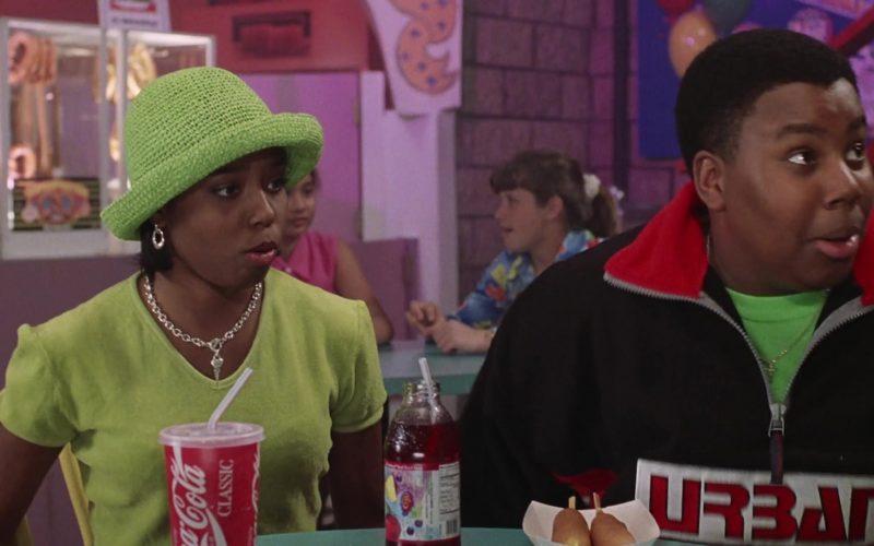 Coca-Cola Soda Enjoyed by Shar Jackson as Monique in Good Burger (1997)