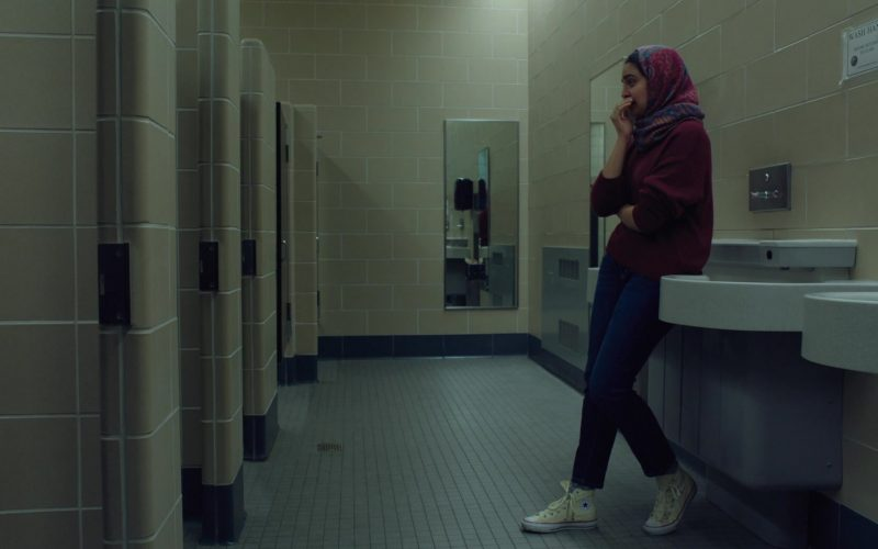 Converse High Top Shoes Worn by Geraldine Viswanathan in Hala (2)