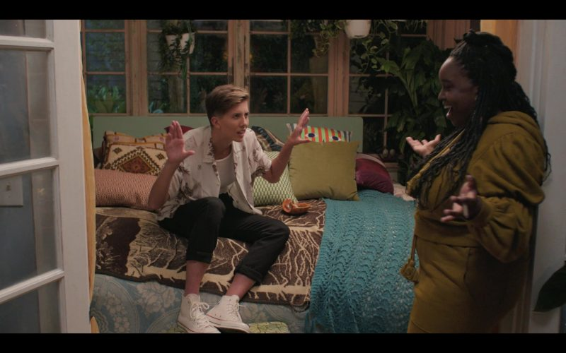 Converse High Top Shoes in Shrill Season 2 Episode 7 (2020)