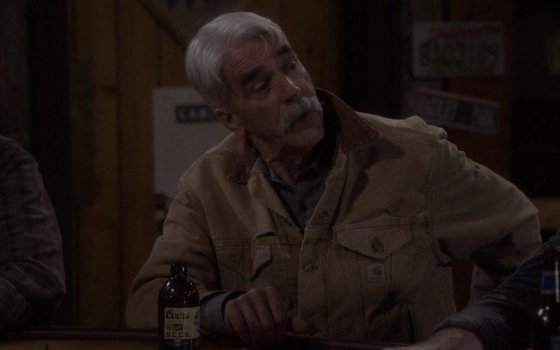 Coors Beer Enjoyed by Sam Elliott as Beau Roosevelt Bennett in The Ranch Season 4 Episode 12 (2020)