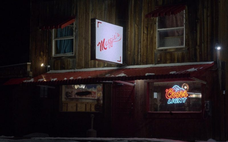 Coors Light Beer Neon Sign in The Ranch Season 4 Episode 15 (2020)
