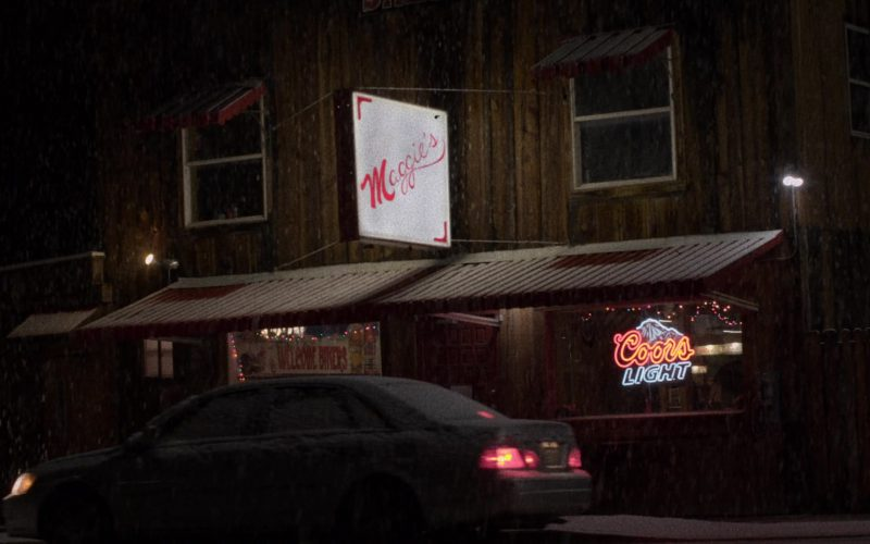 Coors Light Neon Sign in The Ranch Season 4 Episode 17 (2020)