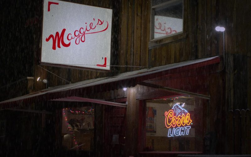 Coors Light Sign in The Ranch Season 4 Episode 16 (2020)