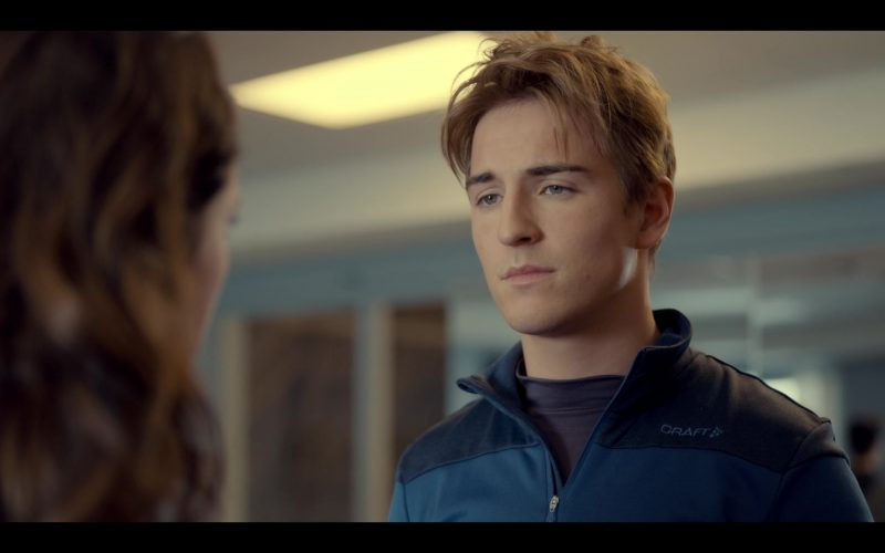 Craft Jacket Worn by Evan Roderick as Justin Davis in Spinning Out Season 1 Episode 4 Keep Pinecrest Wild