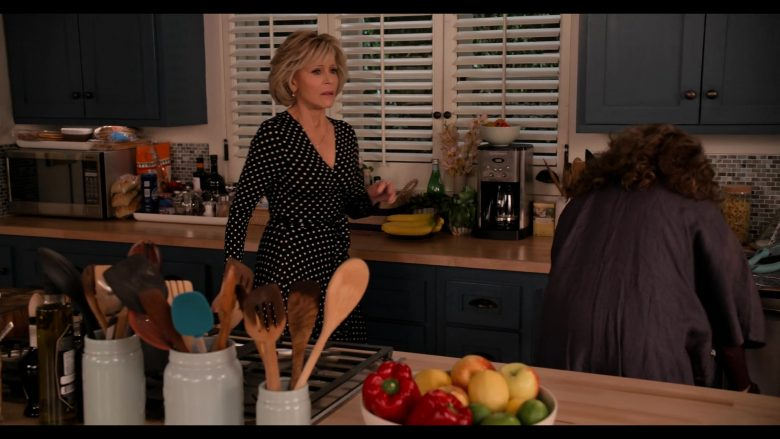 Cuisinart Coffee Machine in Grace and Frankie Season 6 Episode 8 The Short Rib (2020)