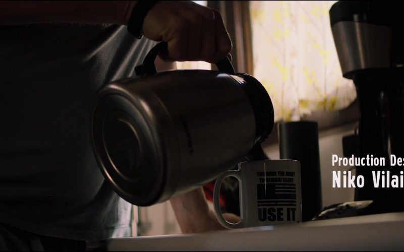Cuisinart Electric Kettle Used by Aaron Eckhart in Line of Duty