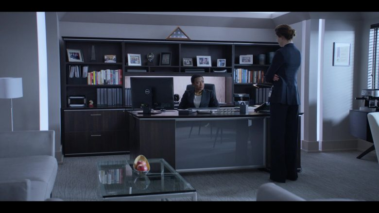 Dell All-In-One PC Used by Barbara Eve Harris as Katherine Bailey in Messiah Season 1 Episode 1 He That Hath an Ear