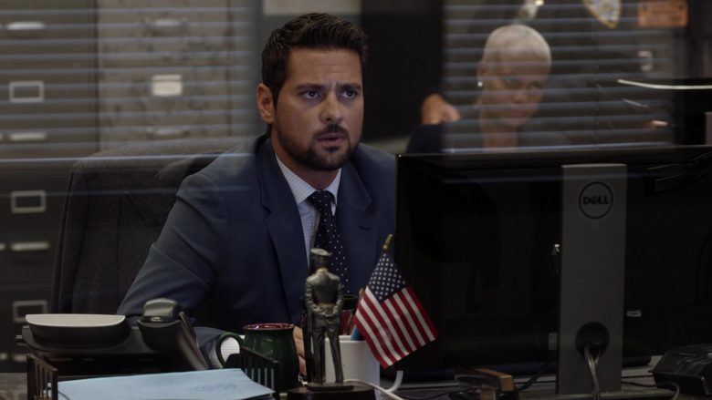 Dell Computer Monitor Used by J. R. Ramirez as Jared Vasquez in Manifest Season 2 Episode 1 Fasten Your Seatbelts