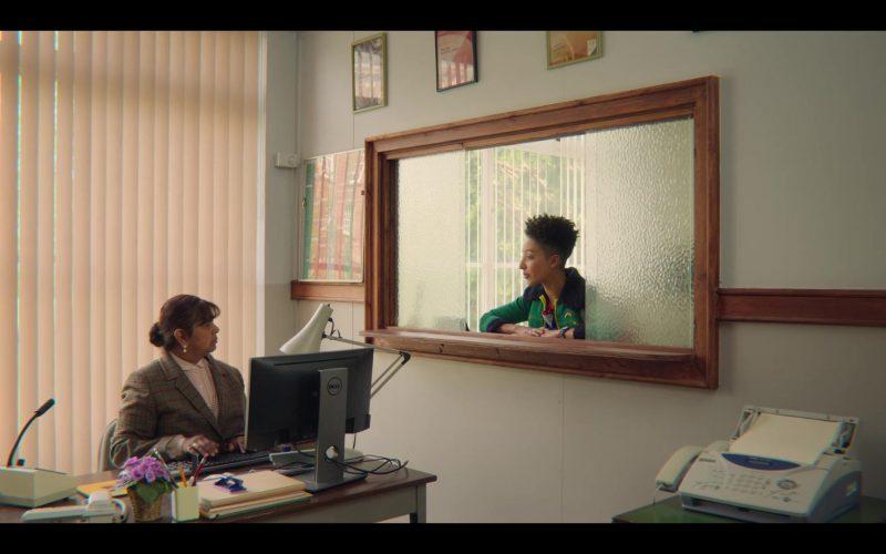 Dell Computer Monitor in Sex Education Season 2 Episode 1 (2020)
