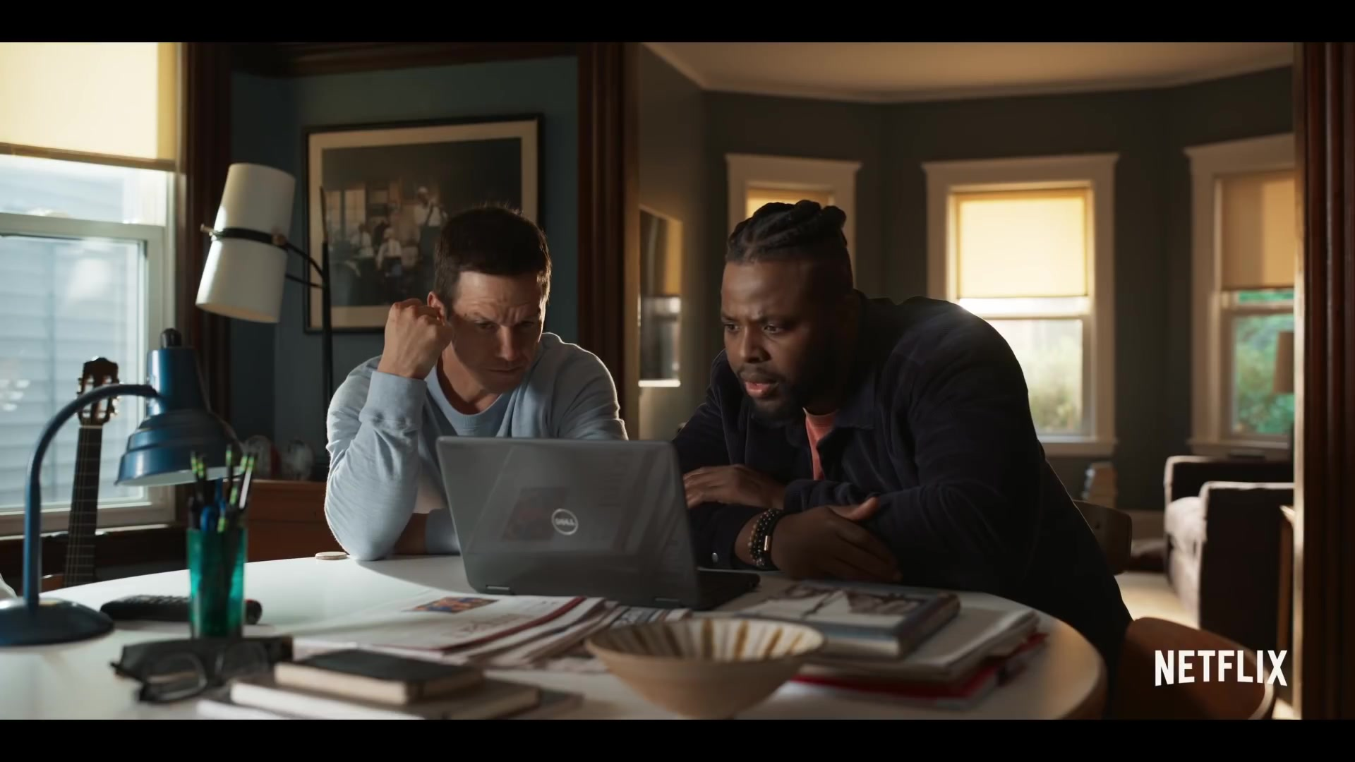 Dell Laptop Used By Mark Wahlberg And Winston Duke In Spenser Confidential 2020