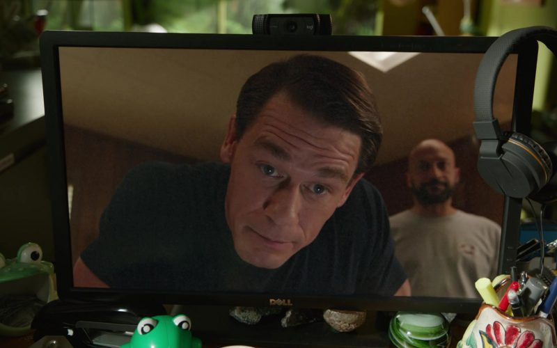 Dell Monitor and Logitech Webcam in Playing with Fire (2019)