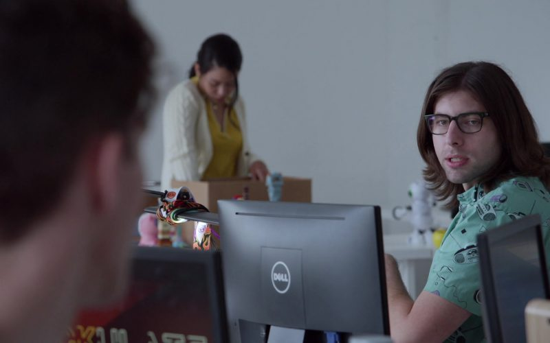 Dell Monitor in Good Trouble Season 2 Episode 11 Clapback (2020)