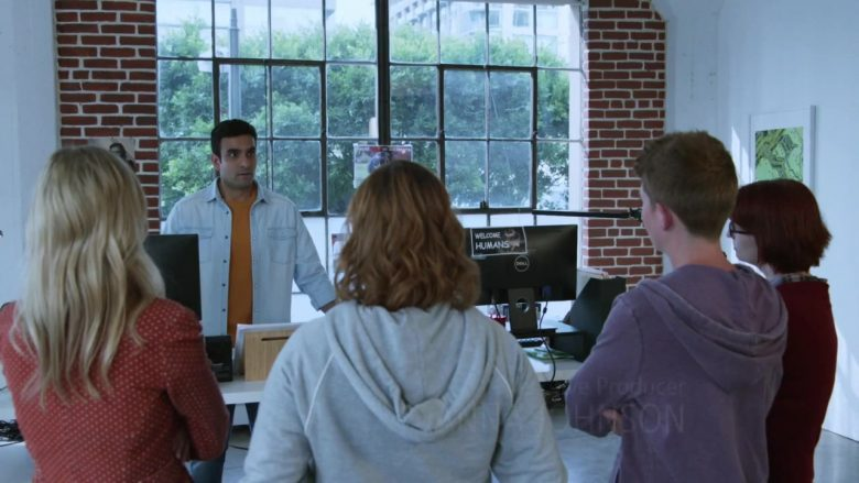 Dell Monitor in Good Trouble Season 2 Episode 12 Gumboot Becky (2020)