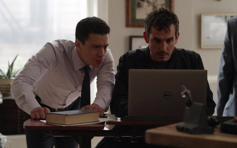 Dell Notebook Used by Tate Ellington as Felix in Lincoln Rhyme Hunt for the Bone Collector Season 1 Episode 1 Pilot (2)