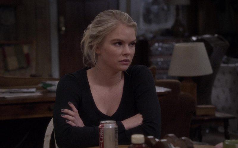 Diet Coke Soda Enjoyed by Kelli Goss as Heather Roth in The Ranch Season 4 Episode 17 (1)