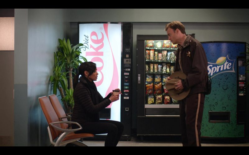 Diet Coke and Sprite Soda Vending Machines in October Faction Season 1 Episode 6 Open Your Eyes (2020)