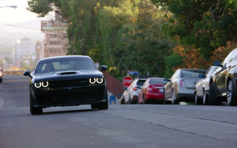 Dodge Challenger SRT Black Car in NCIS Los Angeles Season 11 Episode 12 Groundwork (1)