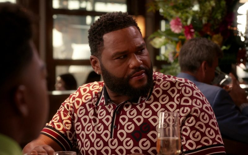 Dolce & Gabbana Shirt Worn by Anthony Anderson as Dre in Black-ish Season 6 Episode 13 Kid Life Crisis (2)