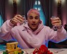 Drew House Pink Hoodie Worn by Justin Bieber in Yummy (202...