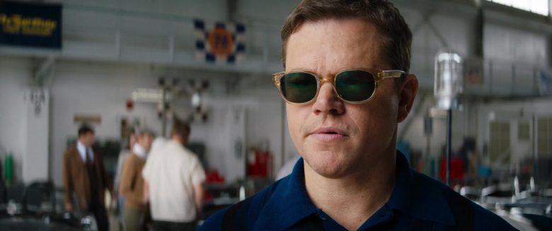 Entourage Of 7 Beacon Sunglasses Worn By Matt Damon As Carroll Shelby In Ford V Ferrari 2019