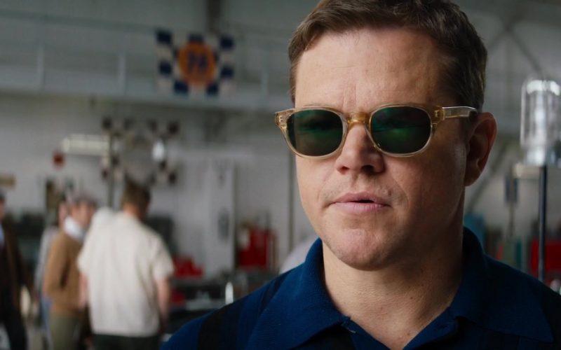 Entourage of 7 Beacon Sunglasses Worn by Matt Damon as Carroll Shelby in Ford v Ferrari Movie (7)