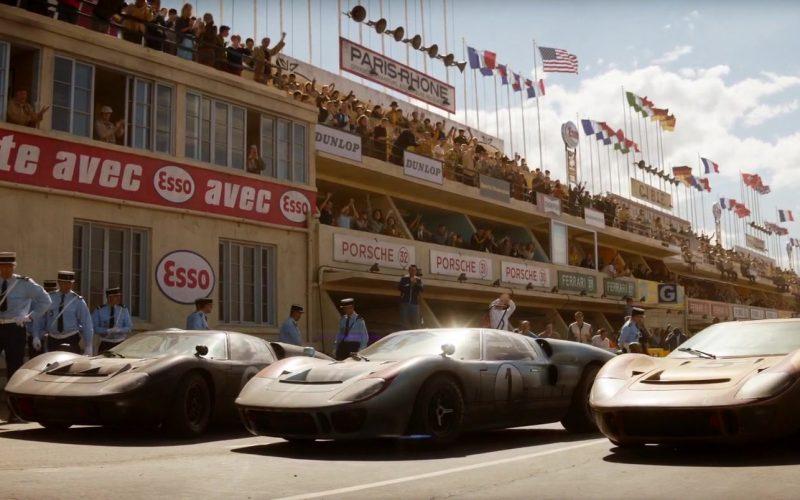 Esso, Dunlop, Porsche in Ford v Ferrari (2019)