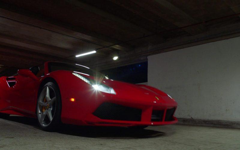 Ferrari Red Sports Car Used by Javier Manuel Hernandez Jr. as Thomas Magnum in Magnum P.I. Season 2 Episode 13 (2)