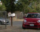 Fiat 500 Red Car in Shameless Season 10 Episode 10 Now Leaving Illinois (1)