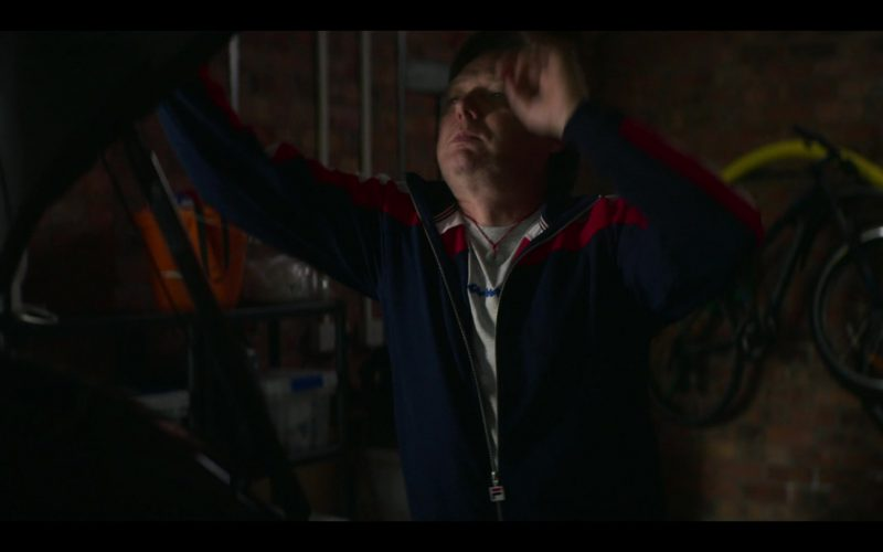 Fila Jacket Worn by Shaun Dooley as Tripp in The Stranger Episode 8
