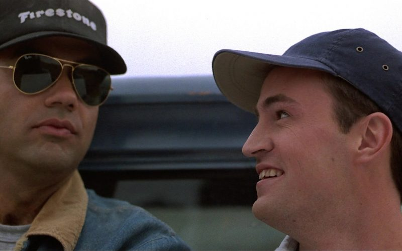 Firestone Cap and Ray-Ban Aviator Sunglasses in Fools Rush In (3)