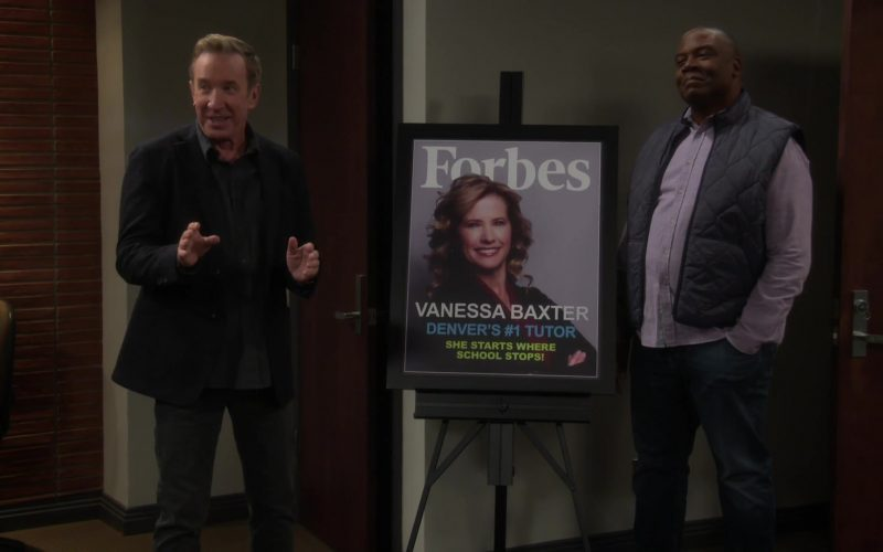 Forbes Magazine Cover in Last Man Standing Season 8 Episode 5 The Office (2020)