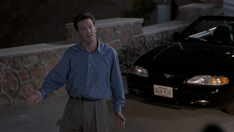 Ford Mustang Convertible Car Used by Matthew Perry as Alex Whitman in Fools Rush In (6)