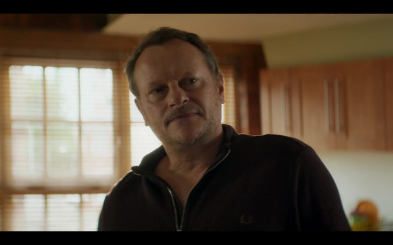 Fred Perry Jacket For Men Worn by Neil Stuke as Lee Clayton in Doctor Who Season 12 Episode 5 (2020)