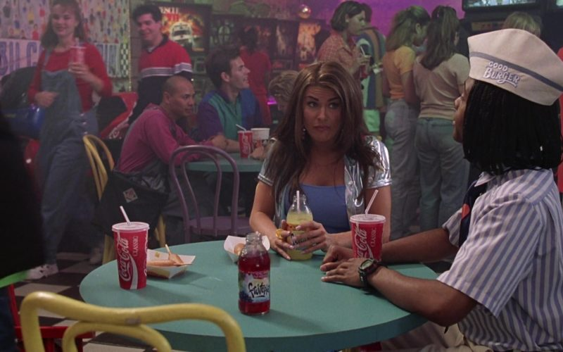 Fruitopia and Coca-Cola Drinks in Good Burger (1997)