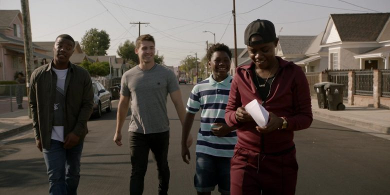 """G-Star RAW Tracksuit Worn by Bre-Z as Tamia 'Coop' Cooper in All American Season 2 Episode 9 """"One of Them Nights"""" (2020) - TV Show Product Placement"""