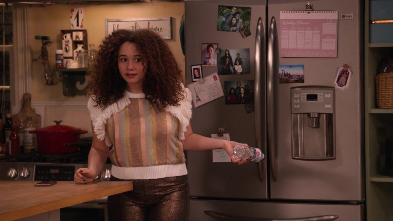 "GE Profile Refrigerator in Family Reunion Season 1 Episode 17 ""Remember the G Club?"" (2020) TV Show"