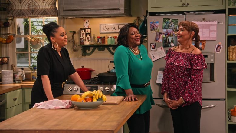 General Electric Profile Refrigerator in Family Reunion Season 1 Episode 18