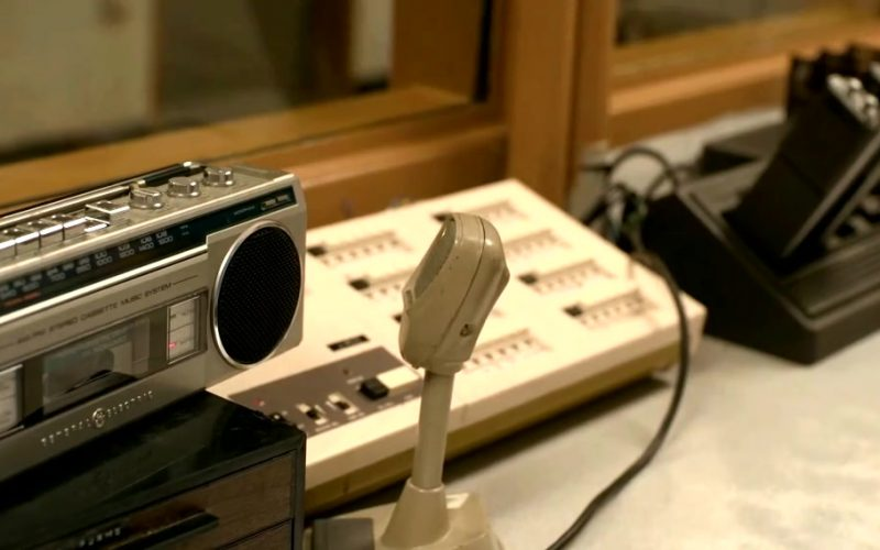 General Electric Stereo Cassette Music System in Just Mercy (2019)