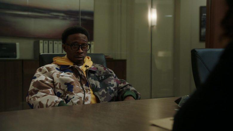 Gosha Rubchinskiy Bomber Jacket in Power Season 6 Episode 11 Still Dre (1)