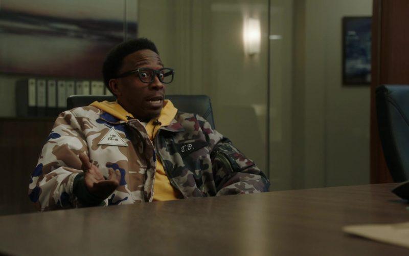 Gosha Rubchinskiy Bomber Jacket in Power Season 6 Episode 11 Still Dre (2)