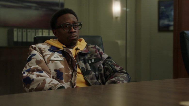 Gosha Rubchinskiy Bomber Jacket in Power Season 6 Episode 11 Still Dre (3)