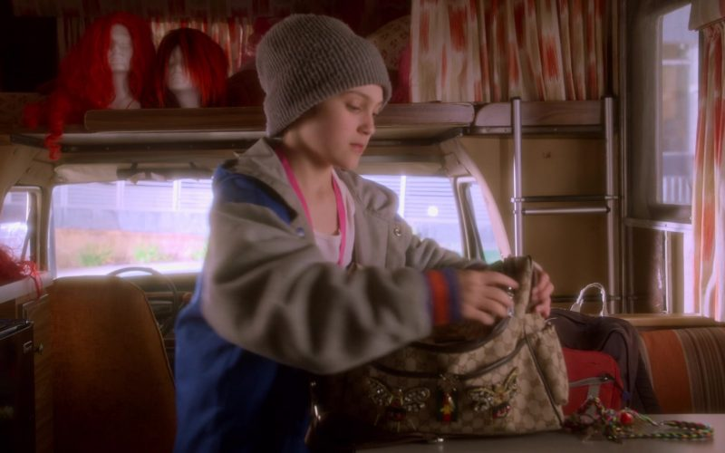Gucci Bag Used by Izzy G. (Izzy Gaspersz) in AJ and the Queen Season 1 Episode 10 Dallas (1)