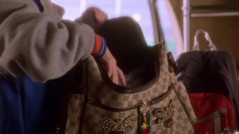 Gucci Bag Used by Izzy G. (Izzy Gaspersz) in AJ and the Queen Season 1 Episode 10 Dallas (2)