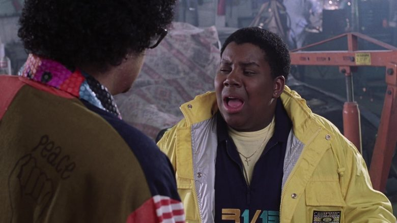 Guess Jeans Yellow Jacket Worn by Kenan Thompson as Dexter Reed in Good Burger (2)
