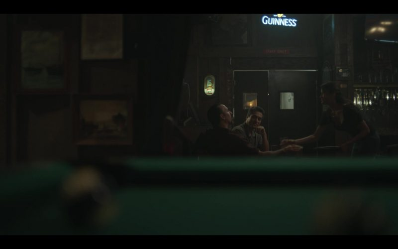 Guinness Beer Sign in The Outsider Season 1 Episode 4 (2020)
