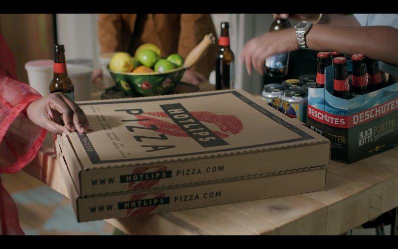 HOTLIPS Pizza and Deschutes Black Butte Porter in Shrill Season 2 Episode 8 (1)
