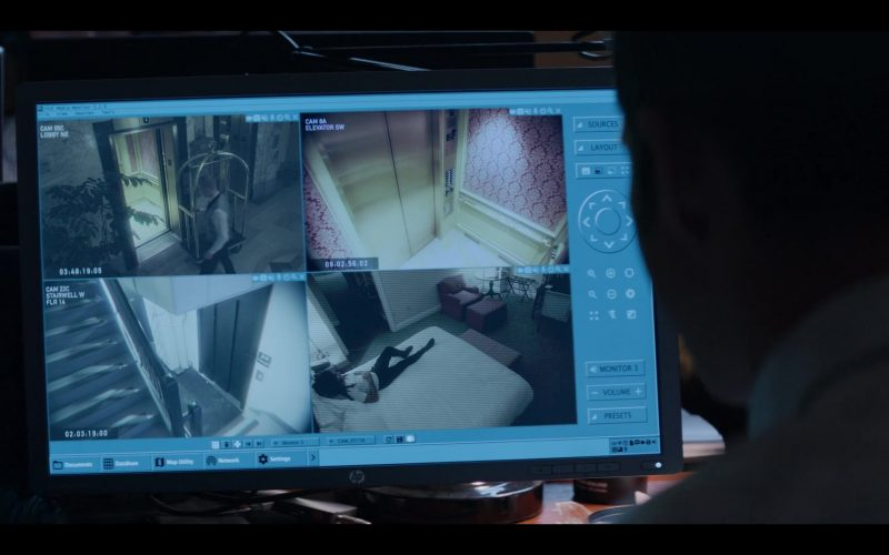 HP Monitor in Messiah Season 1 Episode 7 It Came to Pass as It Was Spoken (2020)
