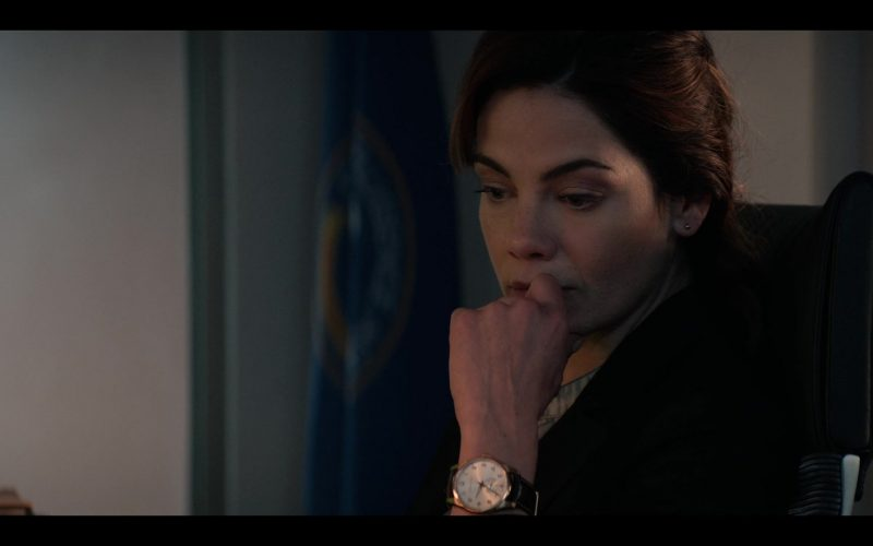Hamilton Women's Gold Wrist Watch Worn by Michelle Monaghan Eva Geller in Messiah Season 1 Episode 10 The Wages of Sin