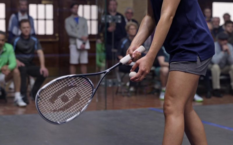 Harrow Squash Racquet Used by Jearnest Corchado as Marisol Rosado in Little America Season 1 Episode 2 The Jaguar